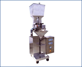 SEMI AUTOMATIC VIBRATOR BASED FILLING MACHINE WITH WEIGHING SYSTEM